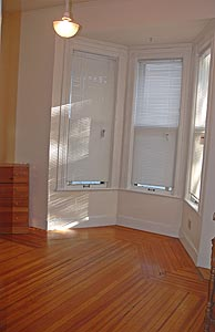 Bedroom in Victorian Apartment Schenectady NY