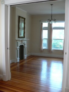 Front parlor of Victorian home in Schenectady NY