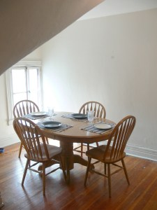 Sunlit Dining Room in Schenectady Apartment