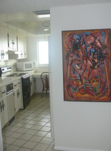 Abstract Painting in Cocoa Beach Condo