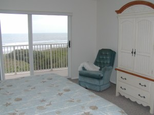 Large Master Bedroom Overlooking Cocoa Beach