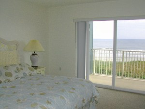 Ocean Views From Master Bedroom at The Mark in Cocoa Beach