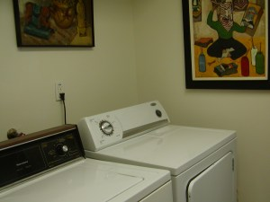 Private Laundry Room in Cocoa Beach Condo