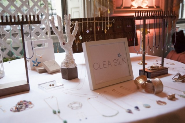 Clea Silk Jewellery