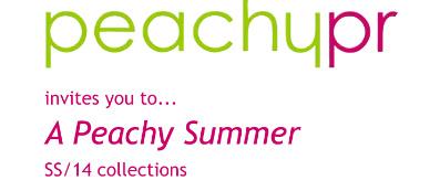 Peachy Summer Press Day