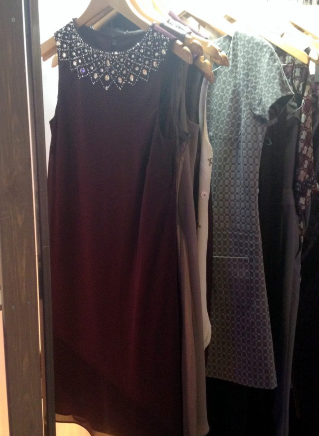 Next jewelled shift dress