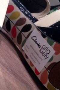 Orla Kiely for Clarks 2014