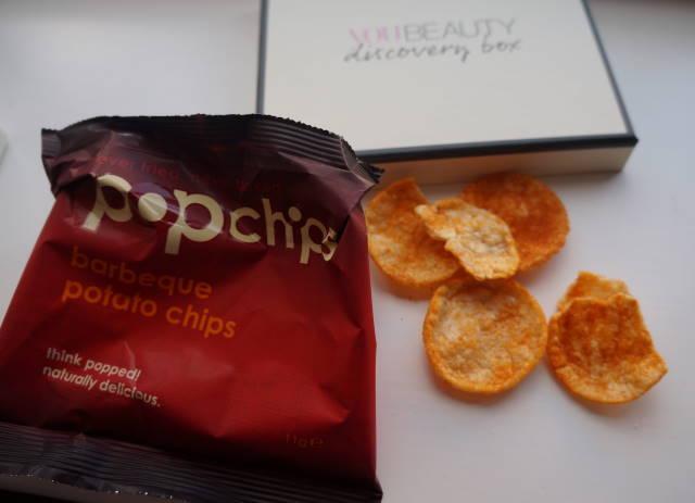 Popchips healthy snack
