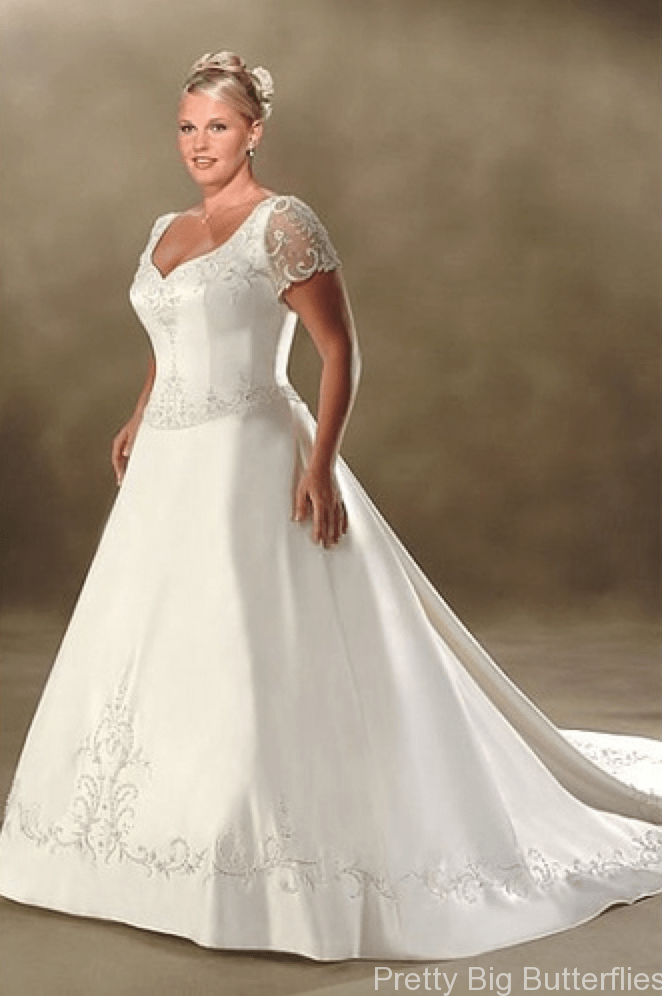 Best Wedding Dresses For Plus Size Erkalnathandedecker