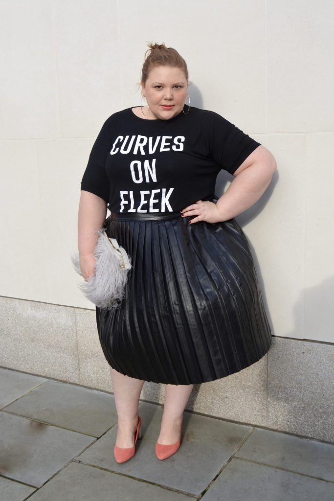 Plus Size blogger - slogan T Shirt