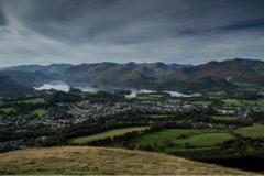 (View of Keswick from Latrigg)
