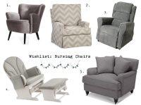 nursing armchair - 28 images - nursing chair salon ...