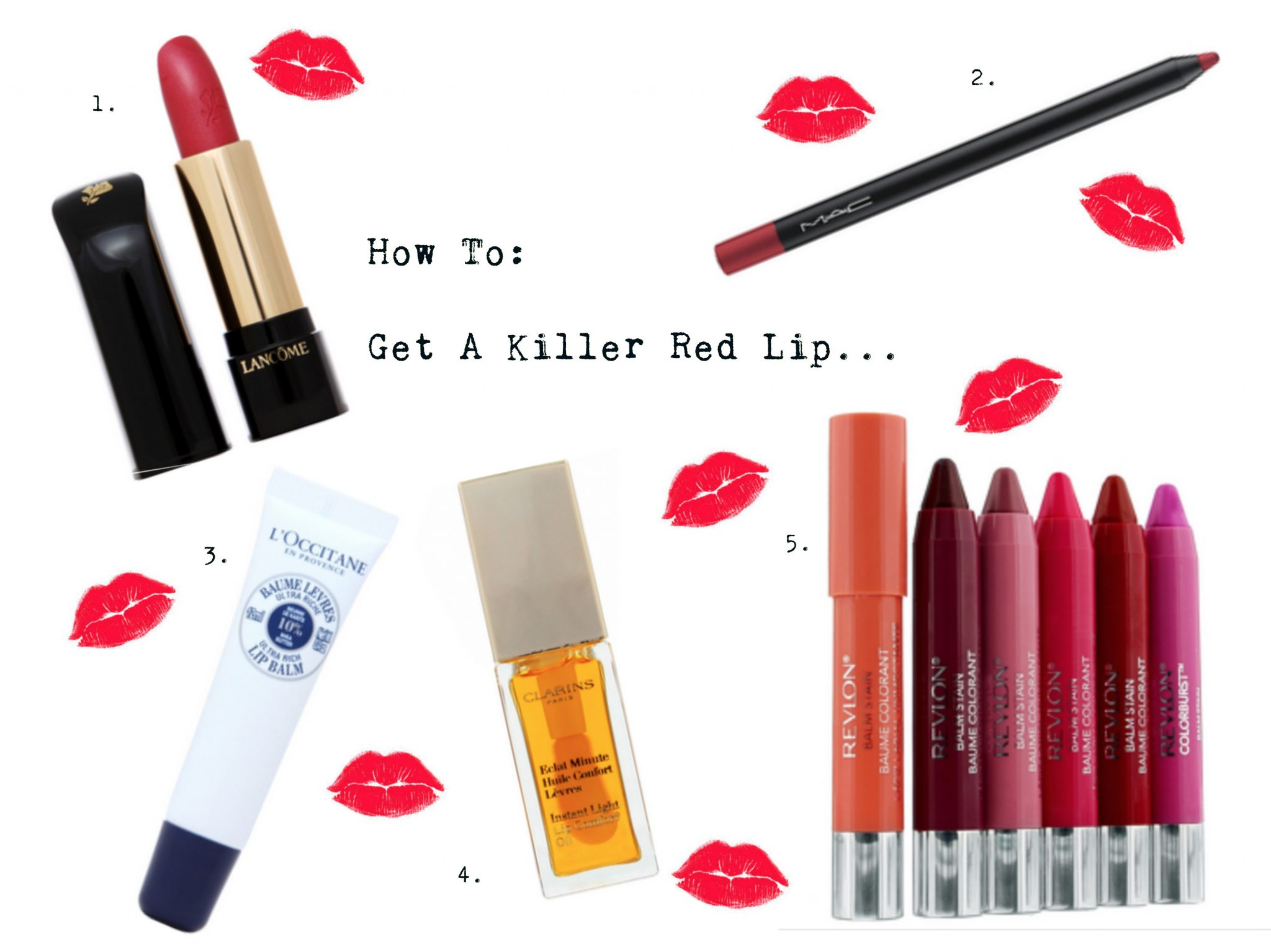 How to get a killer red lip