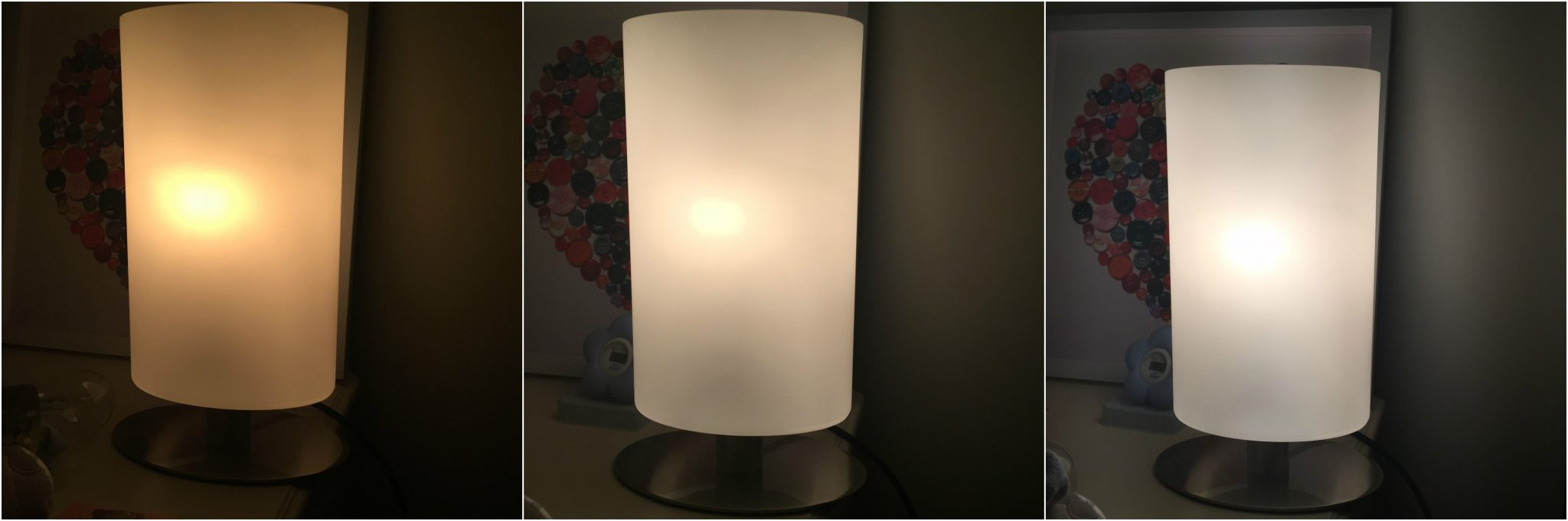 Dimmable Table Lamp Review - Pretty Big Butterflies