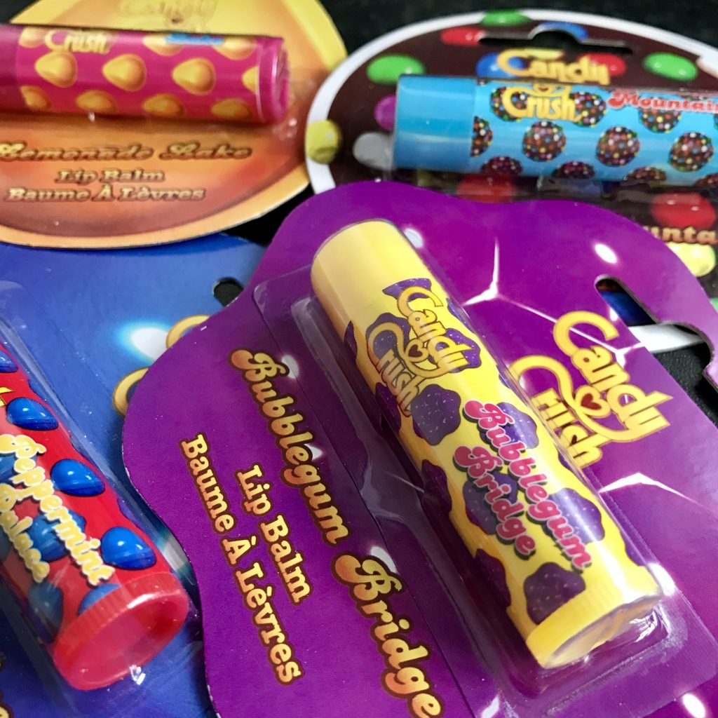 Candy Crush Lip Balm's