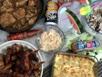 Home made Caribbean food