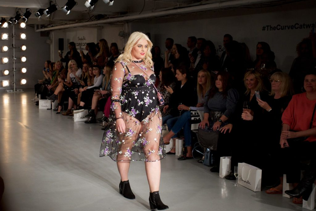 Felicity Hayward - The Curve Catwalk - Simply Be - Pretty Big Butterflies