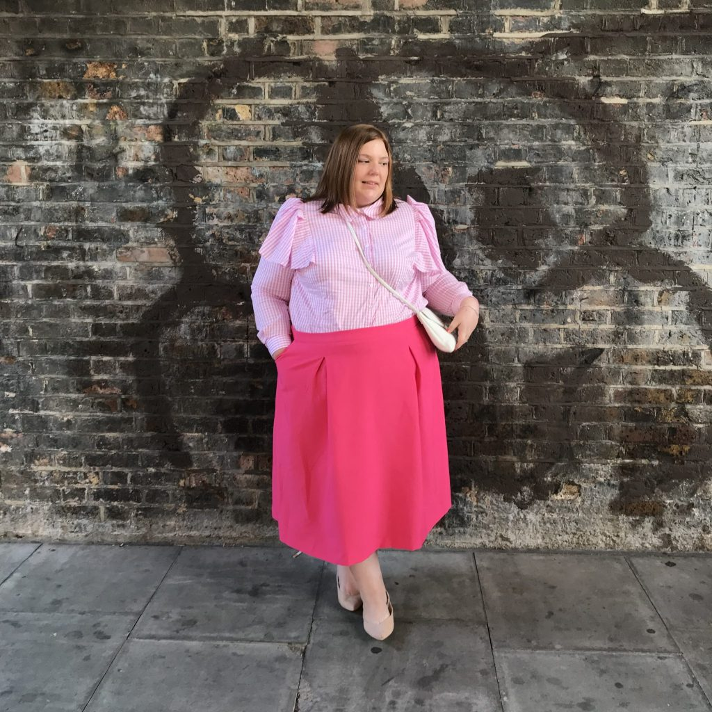 Arched Eyebrow x Navabi collection review - pretty big butterflies