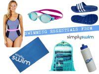 swimming essentials - pretty big butterflies