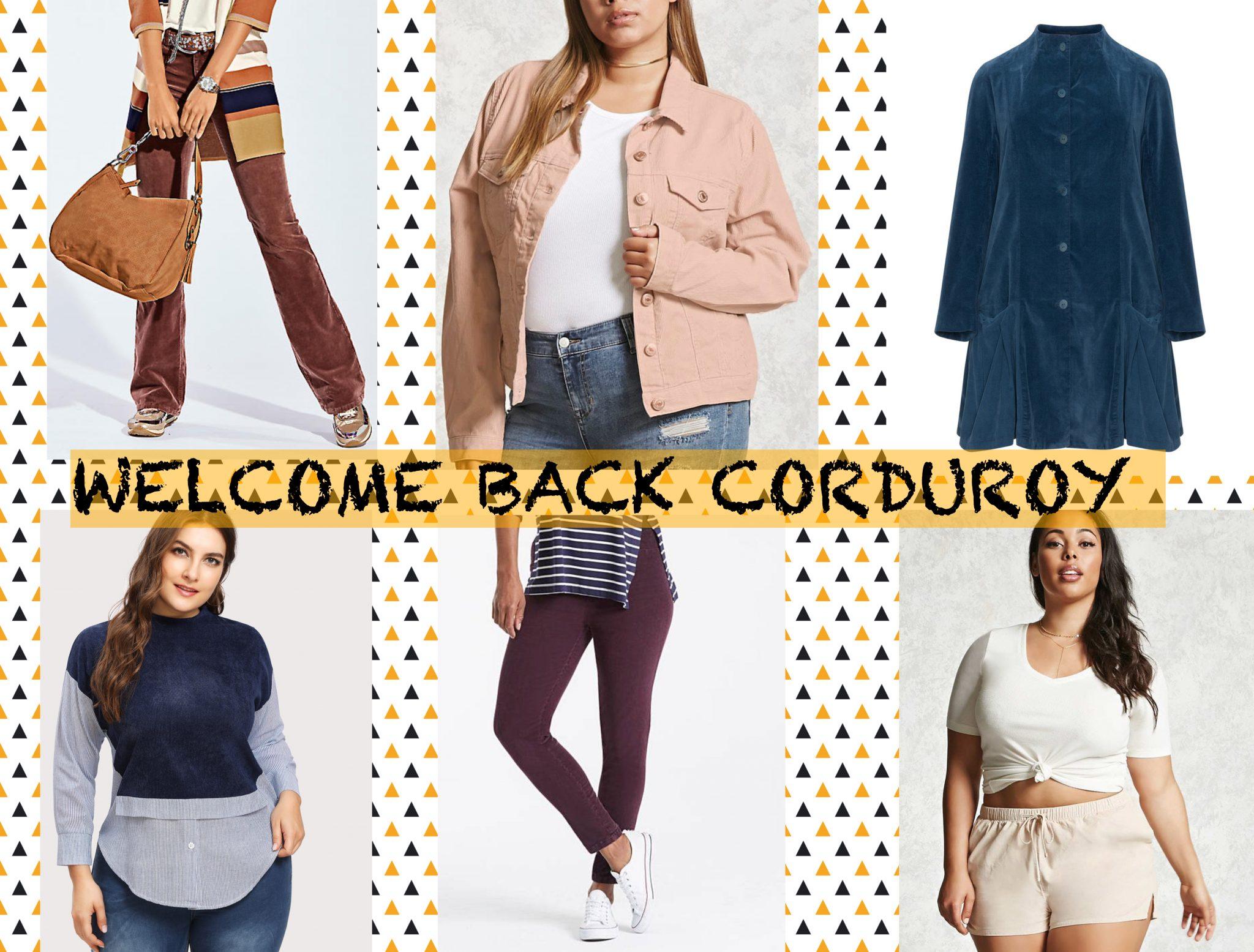 Welcome Back Corduroy