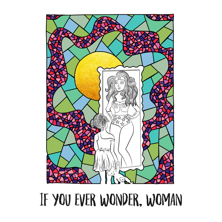 If you ever wonder, woman
