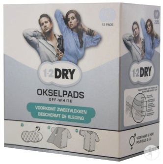 1-2dry okselpads
