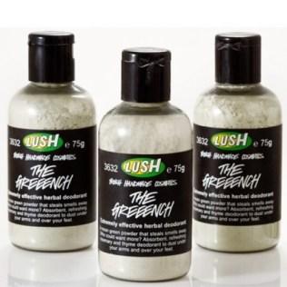 Lush Greeench deodorant poeder