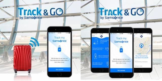 Op reis geen kleding meer kwijtraken door Track & Go