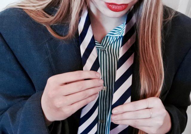 Als vrouw een herenpak dragen; wat gebeurt er dan?