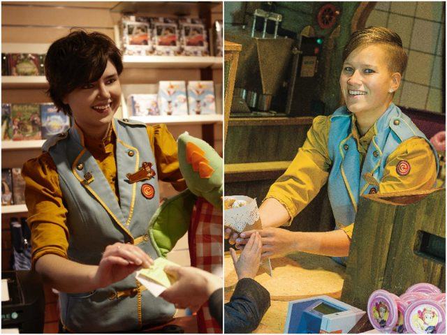 Efteling maakt tassen van oude bedrijfskleding
