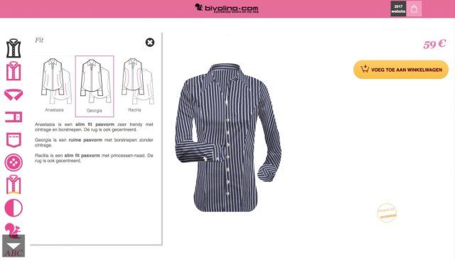 Bivolino: maatkleding op basis van lichaamslengte en gewicht