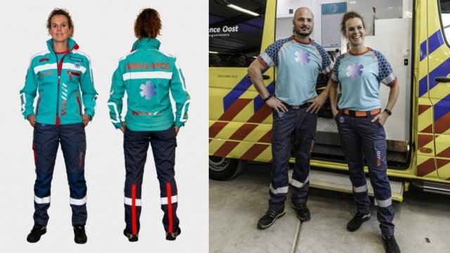 Uitlevering ambulancekleding: kijkje achter de schermen