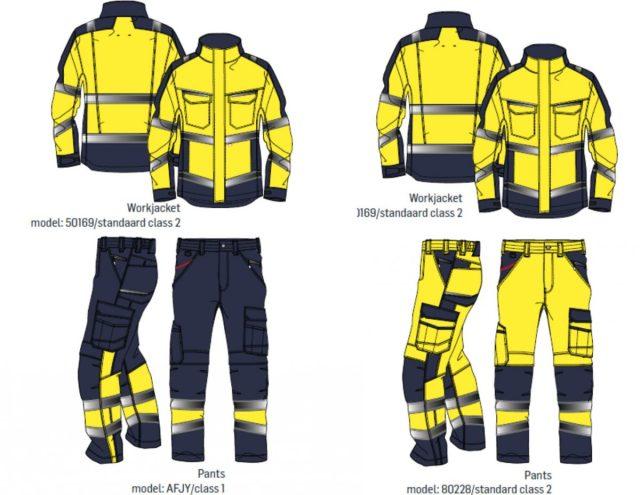 Werken in fluorescerende kleding: wie draagt welke kleur?