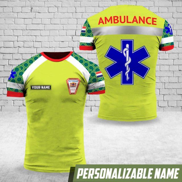 Ambulance shirt Rotterdam