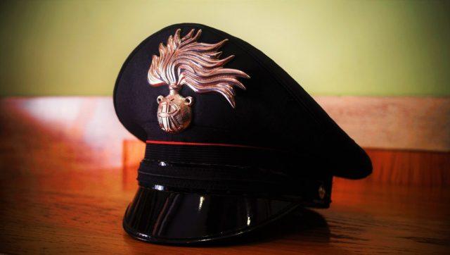 pet van de Italiaanse Carabinieri