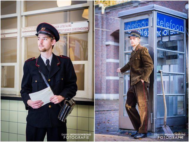 Jeffrey (23) verzamelt én draagt historische uniformen als beroep