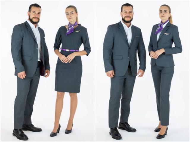 Nieuw uniform voor Flair Airlines