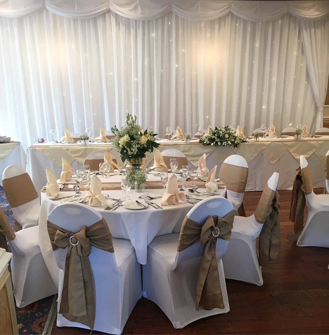 chair covers wedding yorkshire high floor mat white and sashes pretty chairs sheffield our elegant are of a luxurious quality fabric with range sizes to fit your perfectly