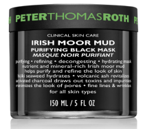 Peter Thomas Roth Irish Moor Mud Purifying Black Mask $107 7 Purifying masks for smaller pores