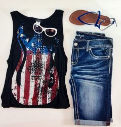 american flag clothing styles print july interesting wear dress 4th cool shops designs fun deb america shirt outfit americana jeans