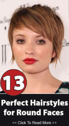 Short Choppy Hairstyles For Round Faces : short, choppy, hairstyles, round, faces, Pretty, Hairstyles, Round, Faces, Designs
