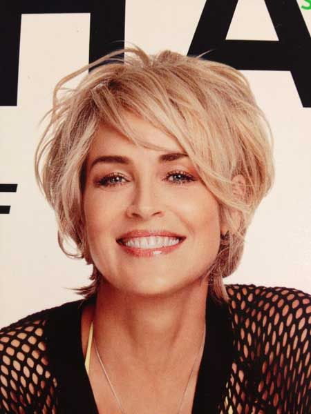Sharon Stone Hair 2020 : sharon, stone, Impressive, Sharon, Stone, Short, Hairstyles, Pretty, Designs