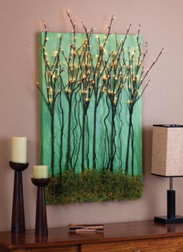 Tree Branch Art : branch, Decorative, Ideas, Branches, Pretty, Designs