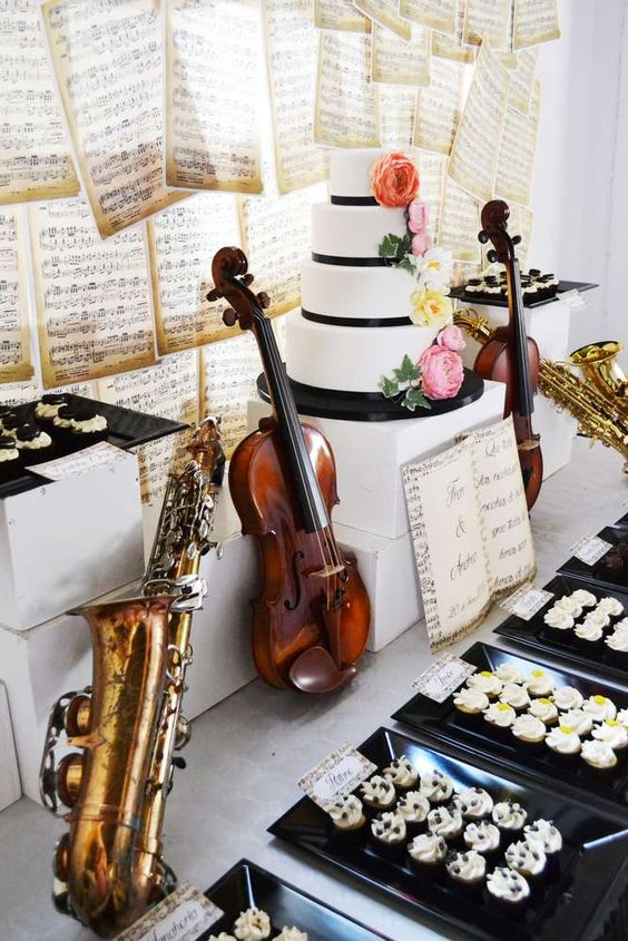 20 Wedding Ideas For Music Lovers  Pretty Designs