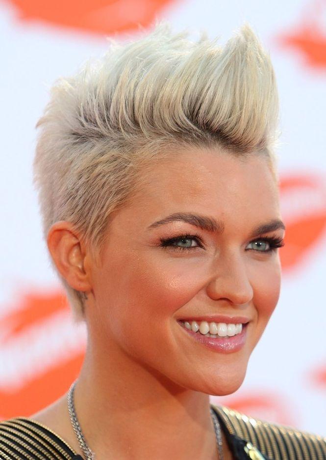 Girl Faux Hawk : Trendy, Hairstyles, Women, Pretty, Designs