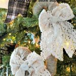 Diy Rustic Candy Cane Christmas Ornament