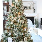 Neutral Farmhouse Christmas Tree Pretty Diy Home