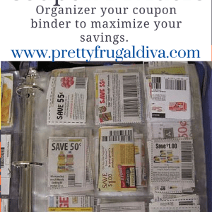 Printable Coupon Dividers