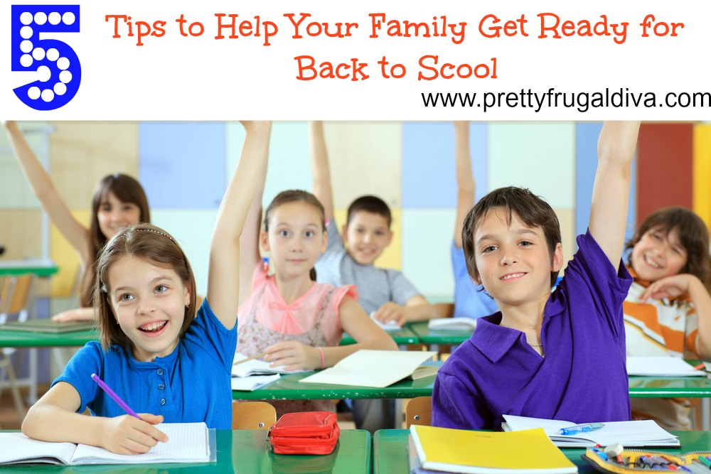 How to get your family ready for back to school