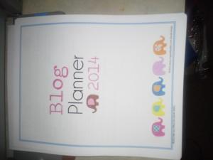 blog planner 2014
